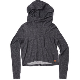 tentree Juneau LS Hooded Women meteorite black